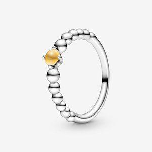 🔥PANDORA Honey Beaded Ring
